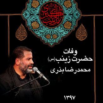 وفات حضرت زینب (س)، محمدرضا بذری