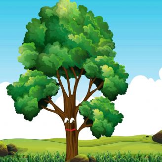 من درختم