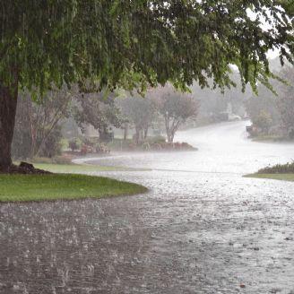 باران و تگرگ