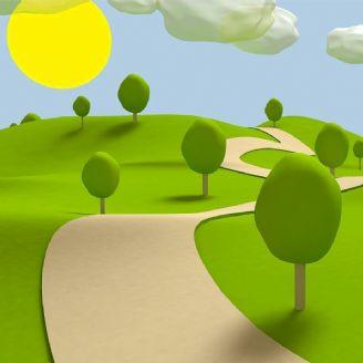 باغ سبز شعرها