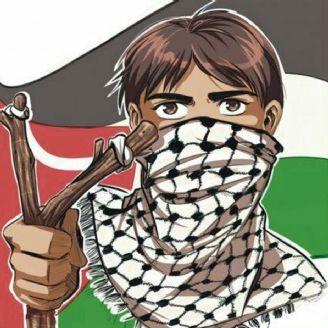 نوجوان فلسطینی