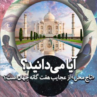 آیا می دانید «تاج محل» از عجایب هفت گانه جهان است؟