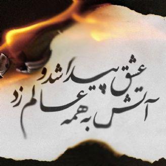 عشق پیدا شد و آتش به همه عالم زد