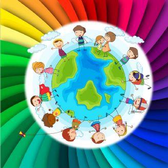 رنگین كمون (روز جهانی كودك)